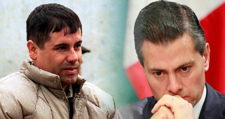 Chapo sobornó con $100 millones a Peña Nieto: Narco