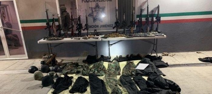 Vinculan a proceso a detenidos en Jiménez con arsenal