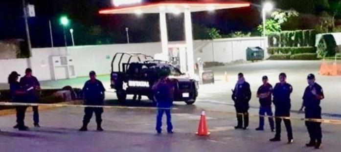 Mata guardia de un balazo en la cabeza a joven que asaltó gasolinera