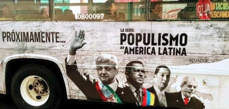 Bloquean cuentas de implicados en documental 'Populismo en América'