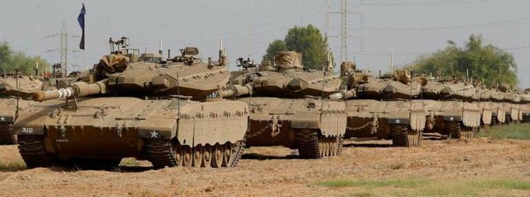 Israel despliega tanques en la Franja de Gaza (VIDEO)