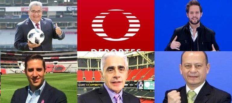 Despiden a comentaristas de Televisa Deportes
