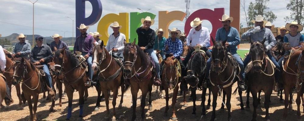 Llegan jinetes de Guadalupe y Calvo a Parral