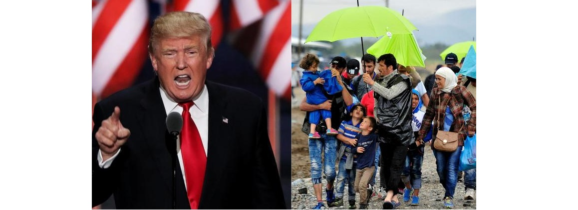 Va Trump por ley para rebotar a migrantes que buscan asilo