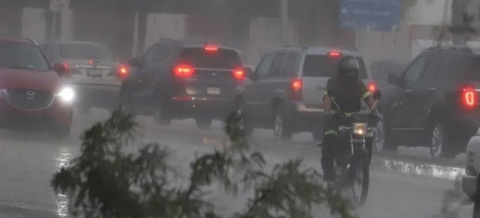 Sonora: CFE reporta comunidades sin luz por tormenta