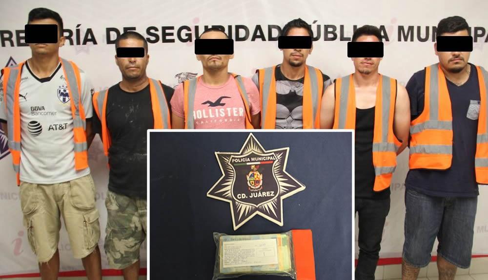Ofrecen $37 mil pesos para que los dejen tomar en la calle; son arrestados