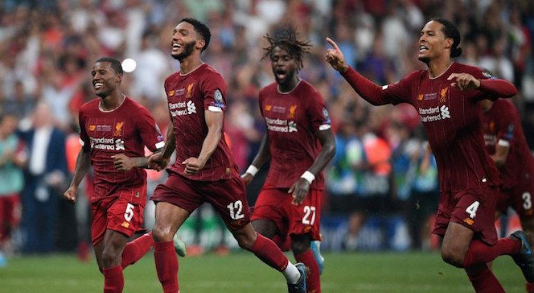 Liverpool supercampeón de Europa; ganó al Chelsea en penales