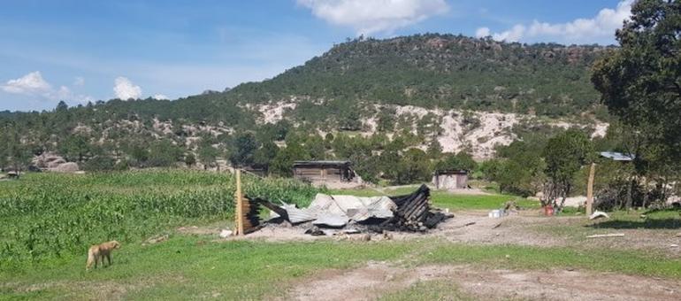 Murió hombre calcinado en su vivienda en Garajeguachi, Bocoyna