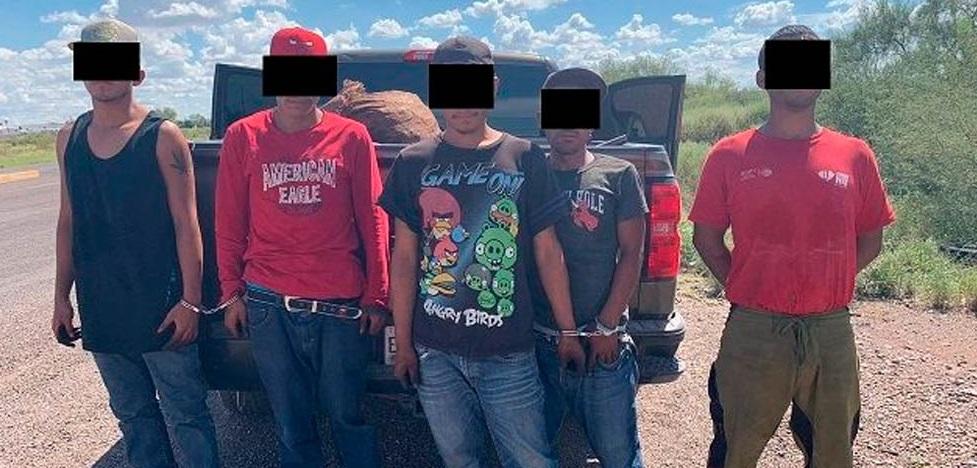 Arrestan a 5 por robo de nuez en Delicias