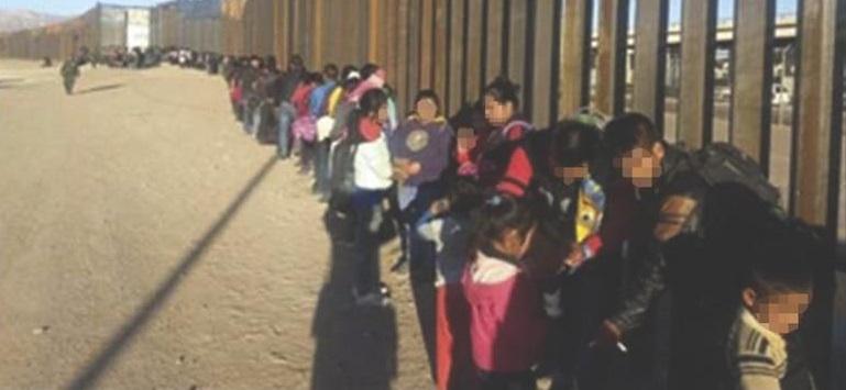 Detuvieron a 175 mil migrantes en un año en El Paso