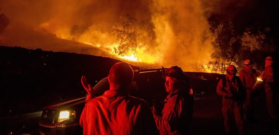 Crecen incendios en norte de California