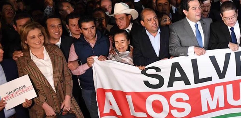 Amlo le tiene más miedo a los alcaldes que al chapito: maru