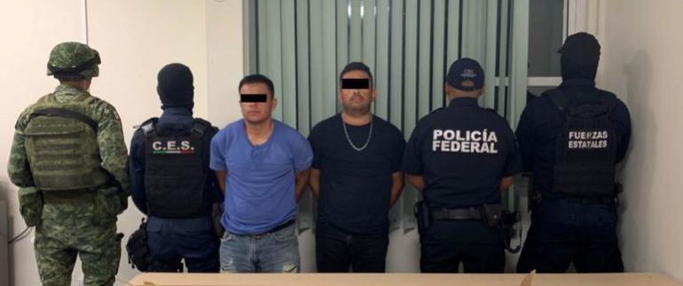 Caen 2 sicarios de Gente Nueva; llegaron a cometer ejecuciones