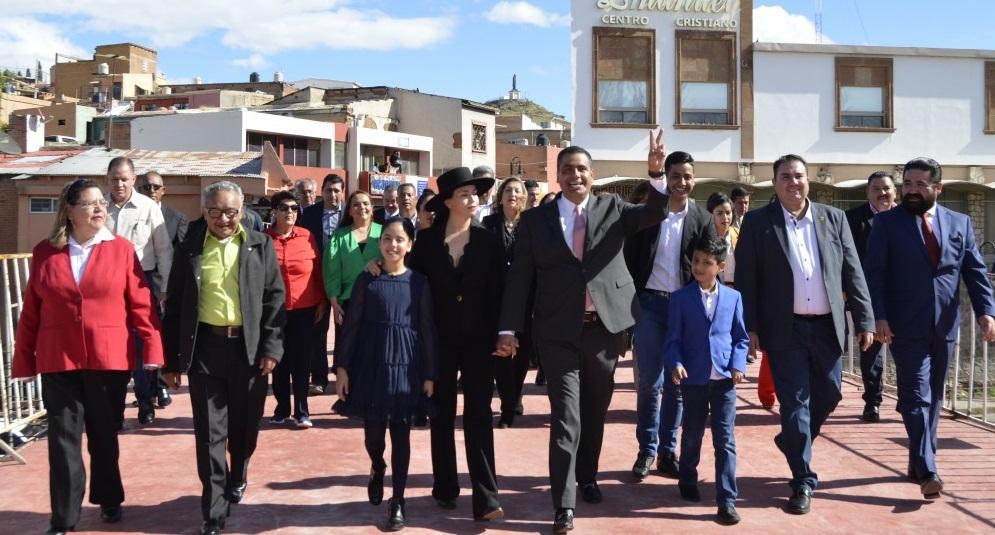 Alcalde Lozoya indica que se trabaja con buena ingeniería en Parral