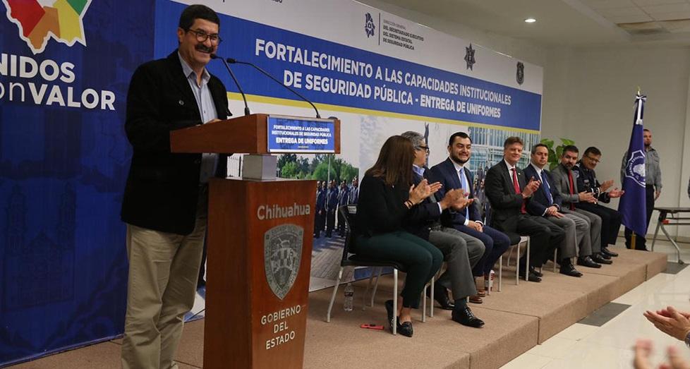 Propone Corral crear nueva Secretaría de Seguridad Pública