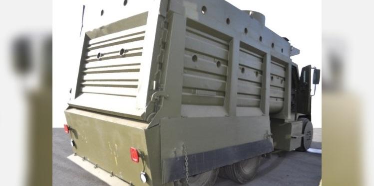 Decomisan en Jalisco camiones con blindaje tipo monstruo al CJNG