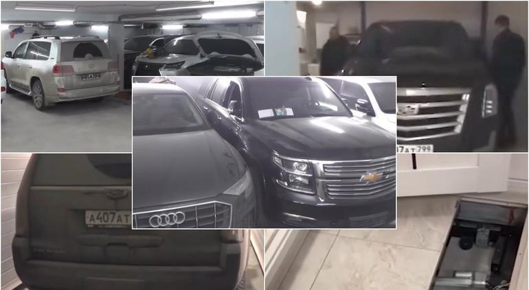 Hallan búnker subterráneo donde ocultaban autos de lujo robados