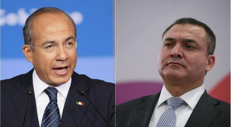 "Calderón sabía de ""extrañezas"" de García Luna desde 2008"