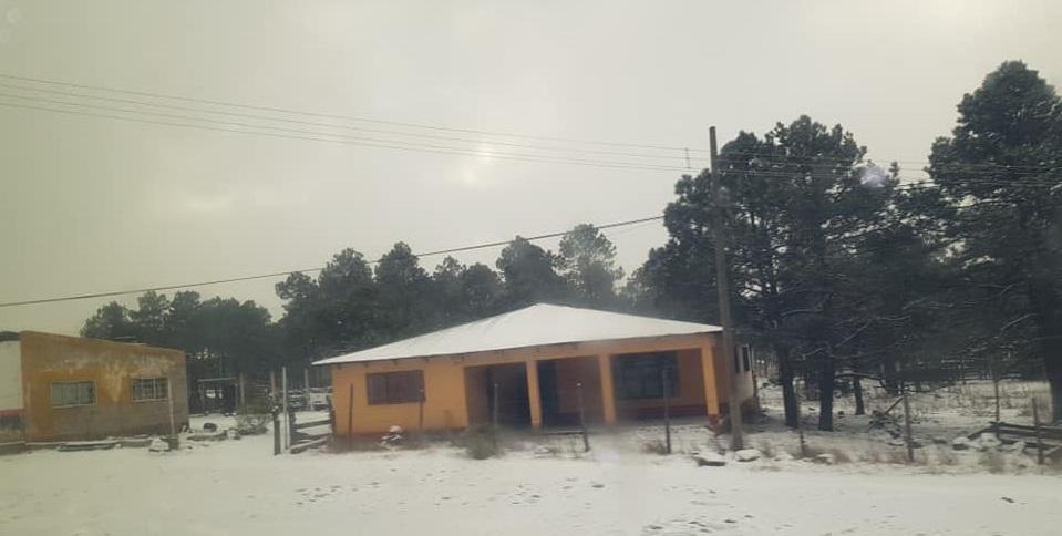 El Vergel registró durante el fin de semana 12.8 grados bajo cero