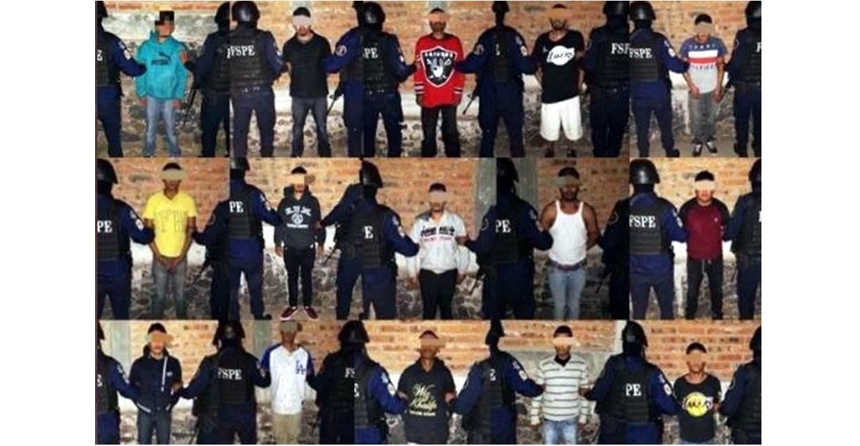Detienen a 29 sicarios en Guanajuato
