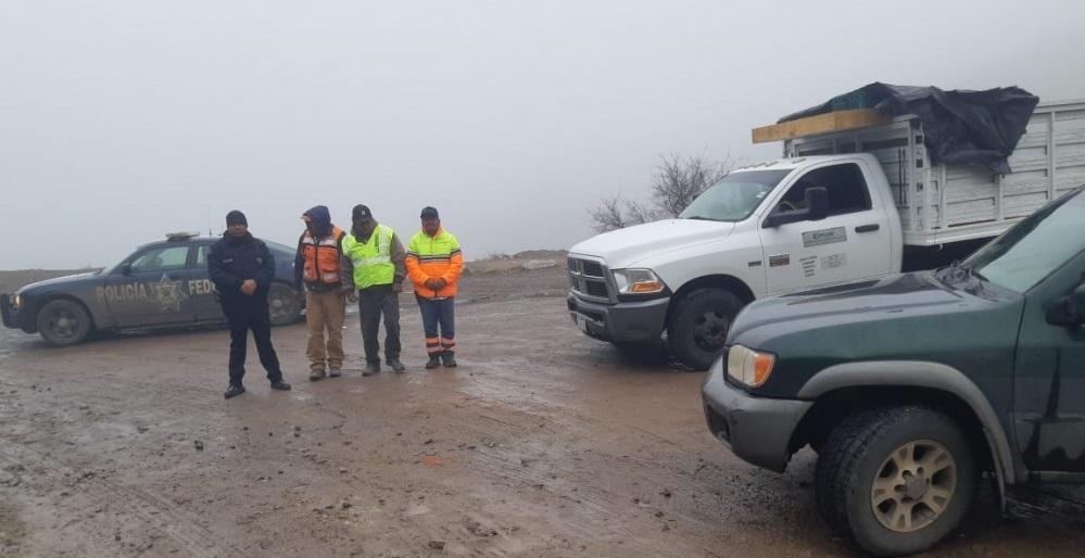 Caída de agua nieve y granizo en algunos municipios de Chihuahua