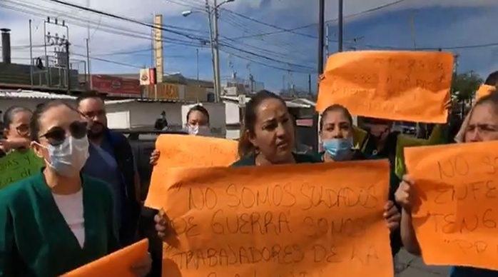 Hay 3 enfermeras del imss con síntomas de covid-19 en Chihuahua
