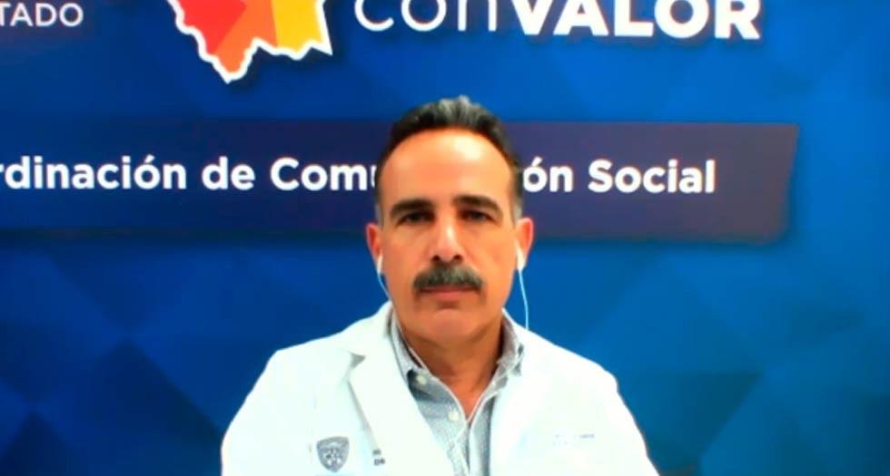 Avanza Covid-19 en el estado; suman 569 contagios