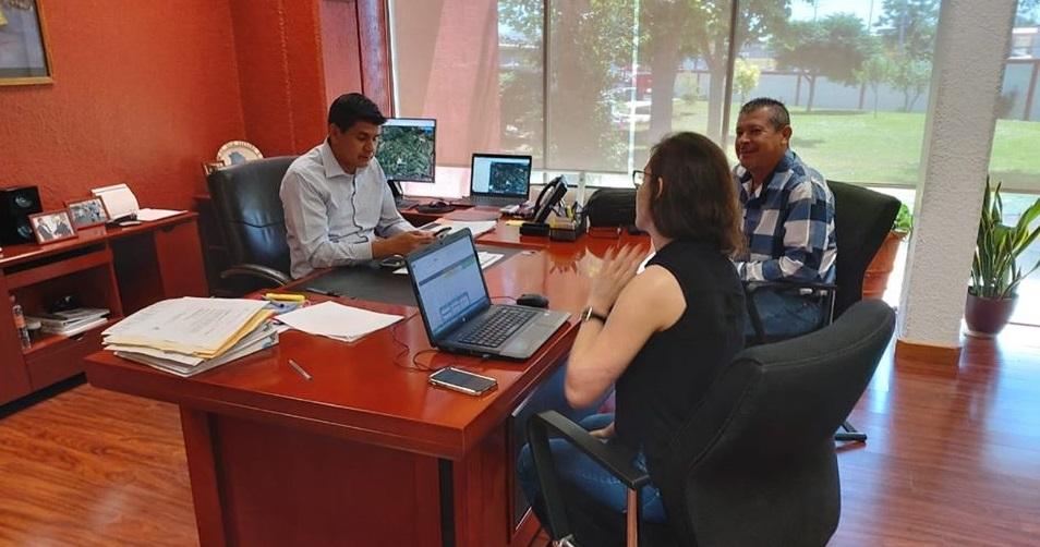 El Alcalde Edgar Venegas se encuentra gestionando más beneficios para la Educación de los Morelenses.