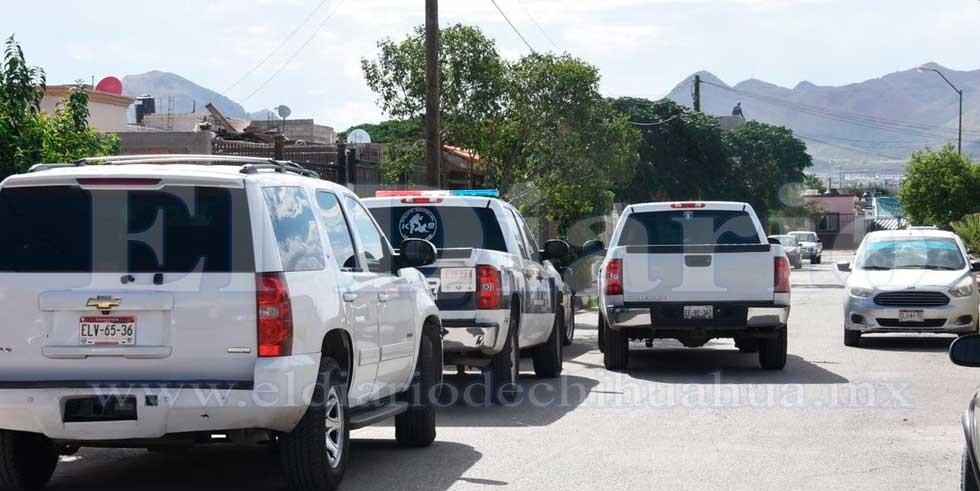 Operativo por supuesto intento suicidio de policía municipal