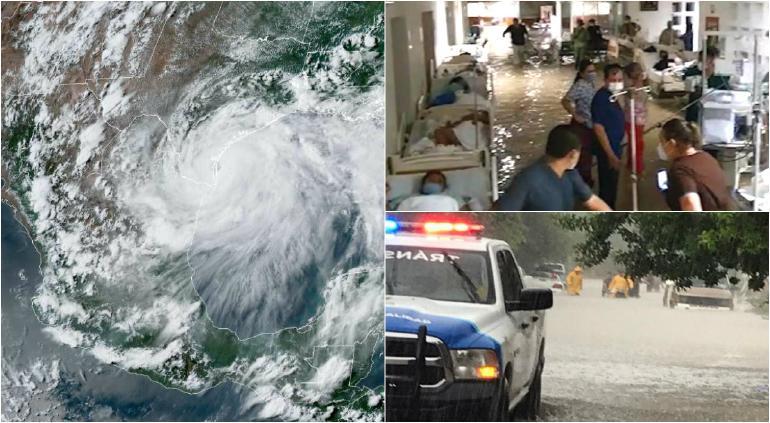 Revelan imágenes de 'enemigo invisible' en inundaciones por Hanna