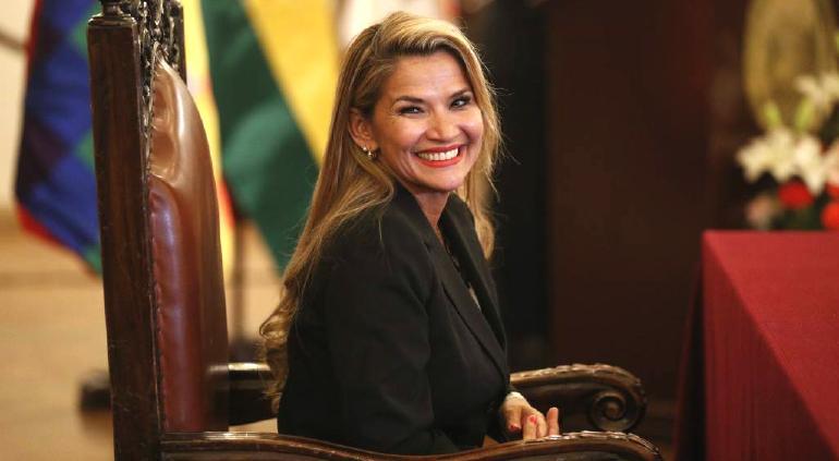 Da positivo a coronavirus Jeanine Áñez, presidente de Bolivia