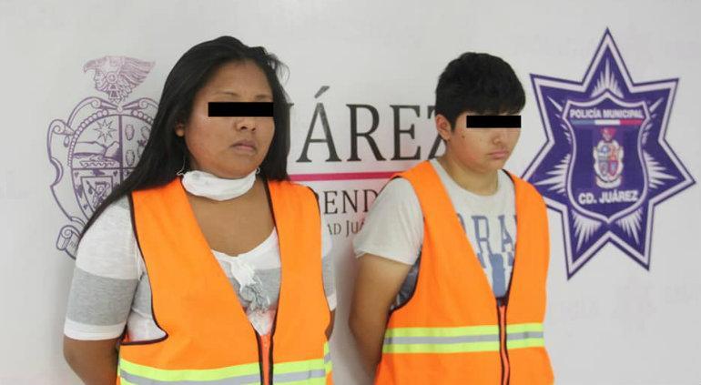 Presentan a madre detenida de bebé que murió golpeado en Juárez