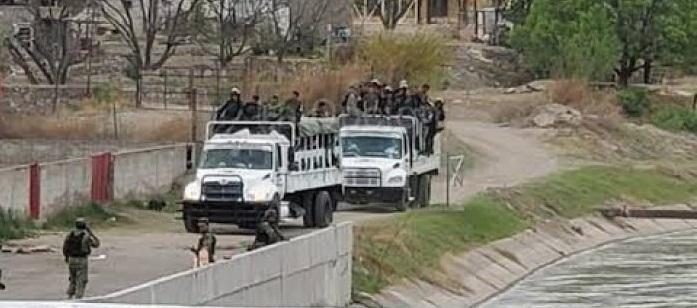 Reportan llegada de más elementos de la Guardia Nacional a la Boquilla