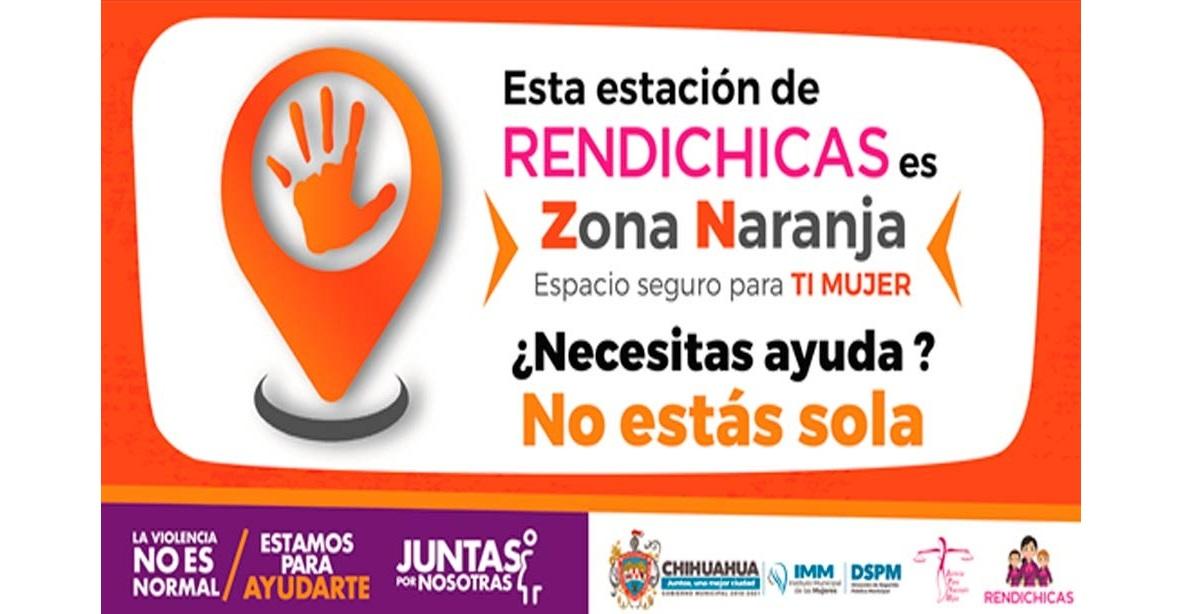 Lanzan programa 'Zona Naranja', un espacio seguro para las mujeres