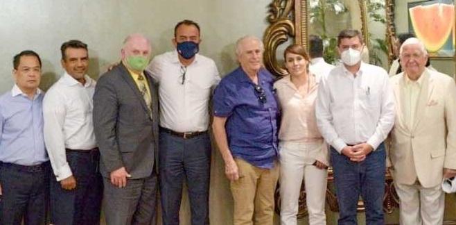 Preside diputado Máynez reunión con Inversionistas texanos interesados en construir el Tren Rápido Chihuahua-Juárez