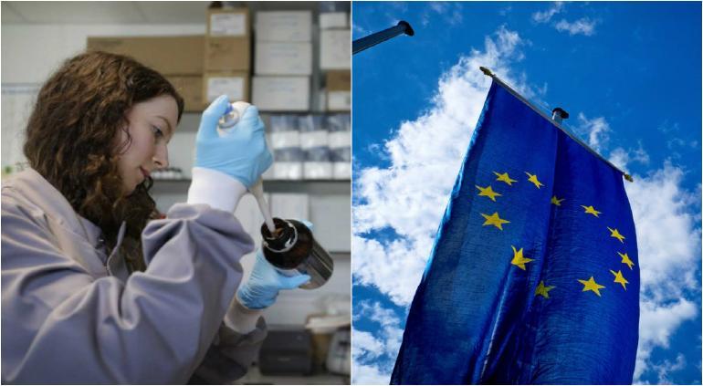 Reparten vacunas contra COVID en el mundo; UE pide 200 millones a J&J