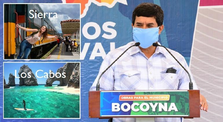 """""""Turismo que nunca hemos vivido"""": Corral plantea ruta Sierra-Los Cabos"""