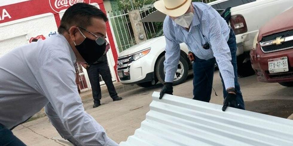 Entrega Municipio apoyos a 200 familias por temporada de lluvias