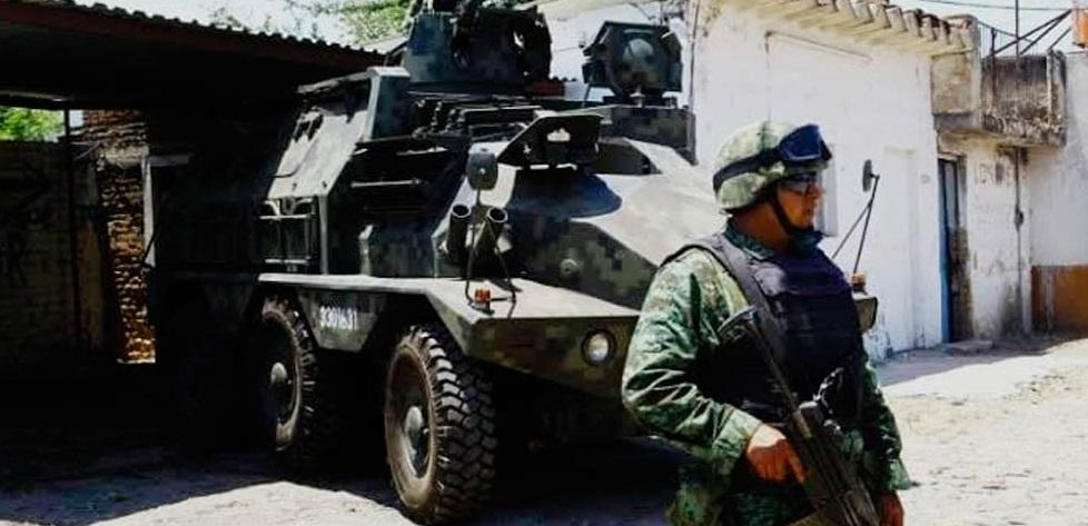 'Toman' militares Villa Coronado y sus alrededores
