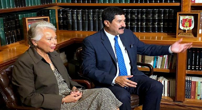Olga Sánchez no aparece desde diciembre: acuerda con el PRI: Corral