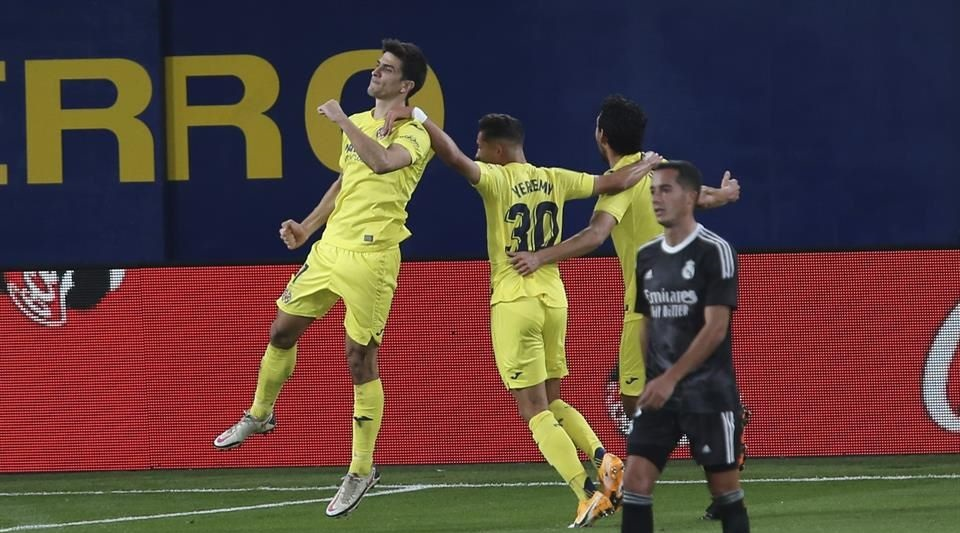 Deja ir puntos el Real Madrid en Villarreal