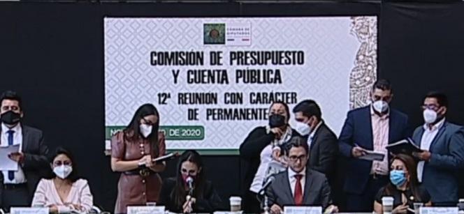 Diputados aprueban en comisiones el Presupuesto de Egresos 2021