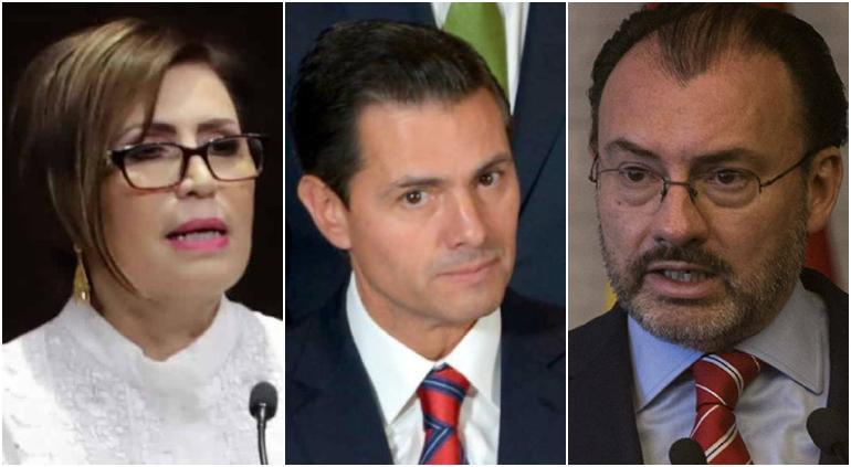 Deslindará Robles a Peña Nieto de desvíos; va contra Videgaray