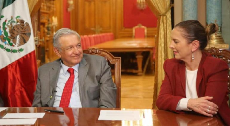 Feliz día, que no falten salud ni amor: Beatriz Gutiérrez a AMLO