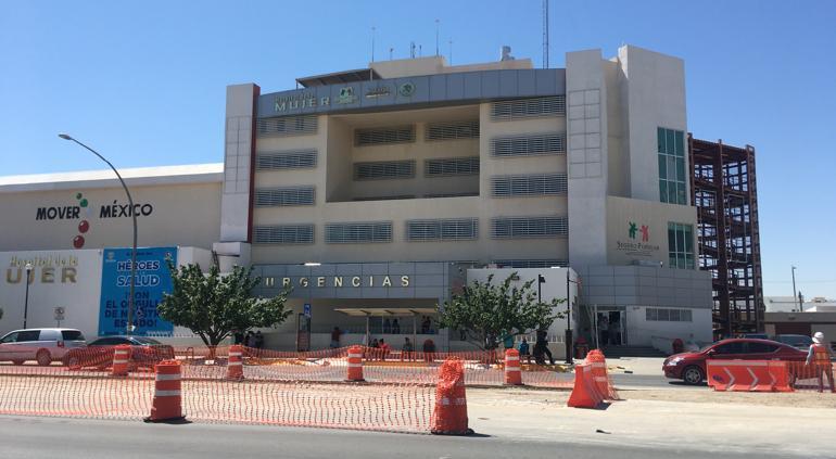 Hospital Militar y de la Mujer, únicos con camas disponibles en Juárez