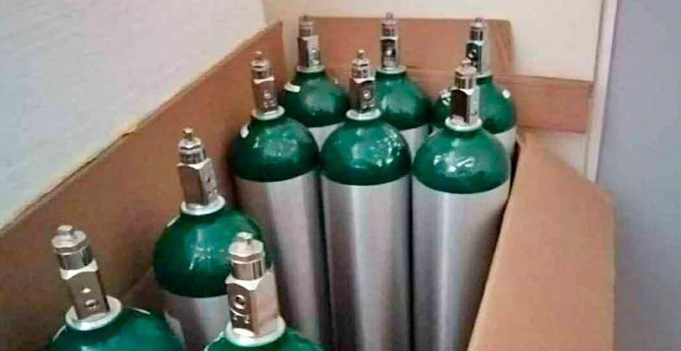 Reportan desabasto de tanques de oxígeno en la ciudad