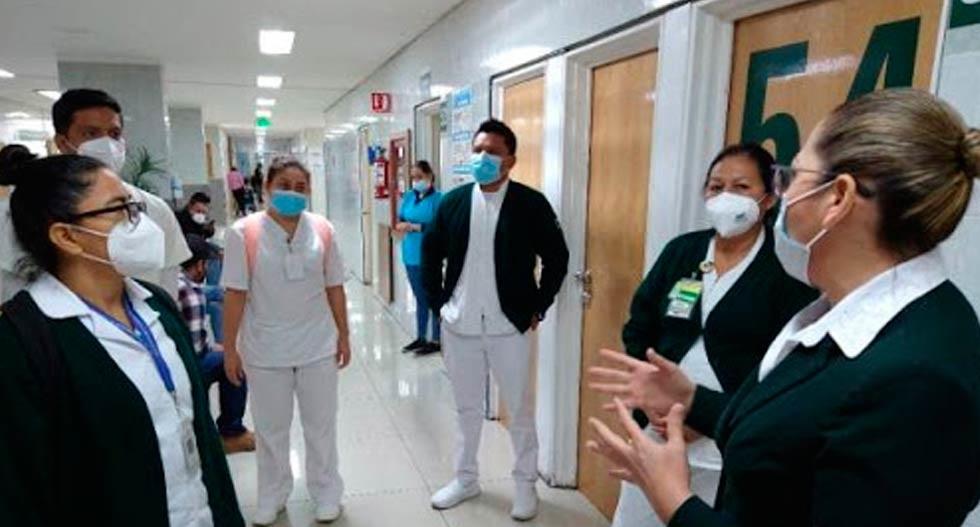 Ahora envía IMSS personal médico de Chihuahua para la CDMX