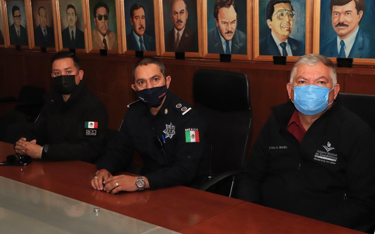 Asume nuevo mando operativo de la Policía Vial en Cuauhtémoc