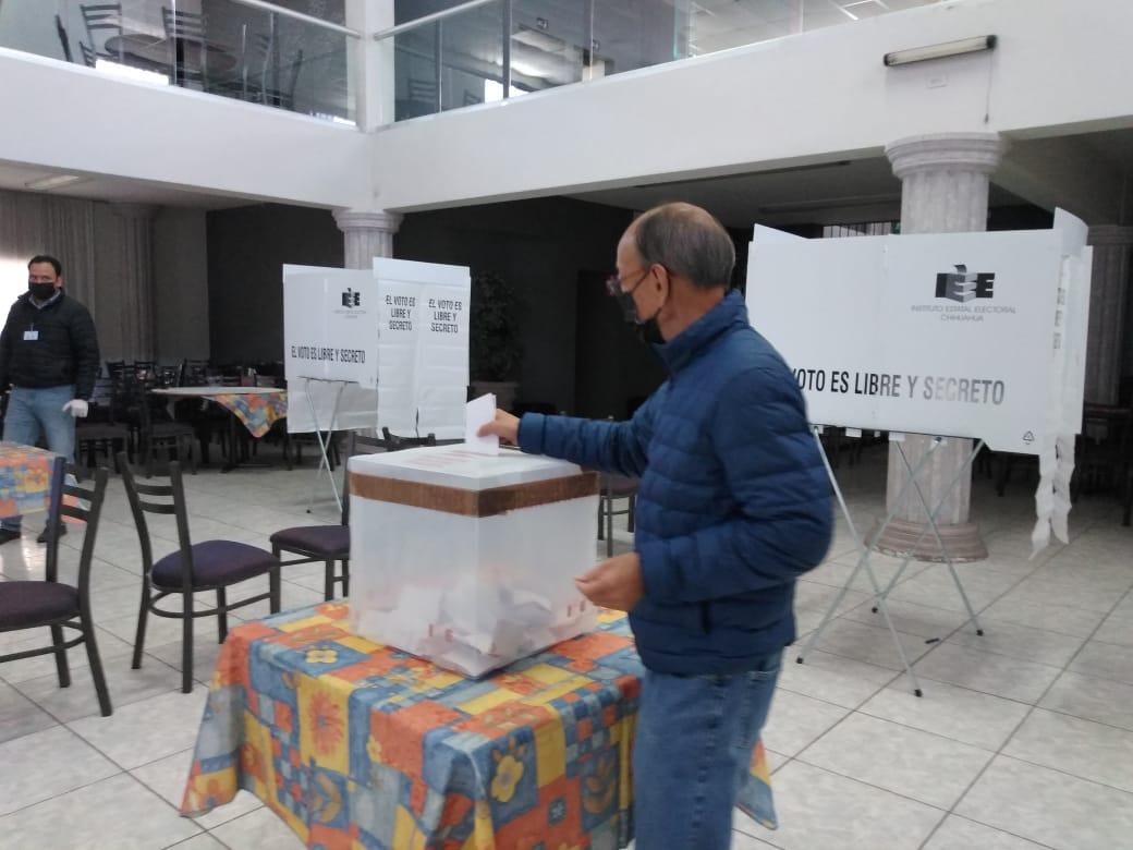 Ha votado el 30% de la militancia de Cuauhtémoc