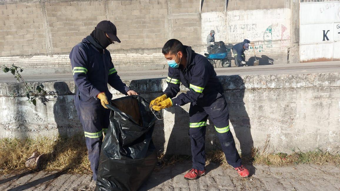 Inicia intensa campaña de limpieza y recolección de basura en Guadalupe y Calvo